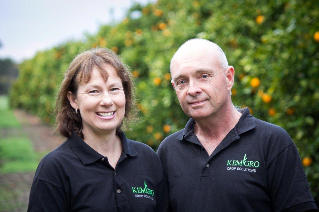 Kemgro owner operators, Ricky and Annette Kemble