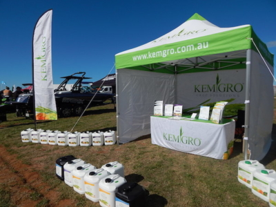 Bringing our products to regional communities, through Field Days- Kemgro