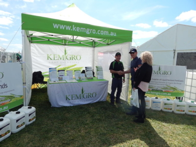 Kemgro on local Field Day home turf