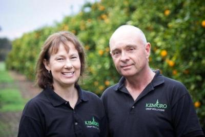 Fruit grower turned liquid nutrient fertiliser chef- kemgro