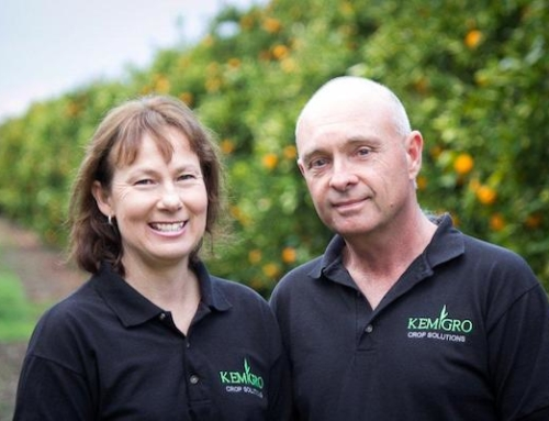 Fruit grower turned liquid nutrient fertiliser Chef